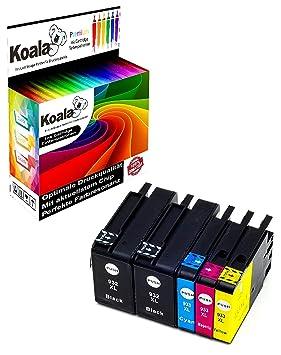 Koala Cartuchos de Impresora Compatible para HP 932 X L 933 X L ...