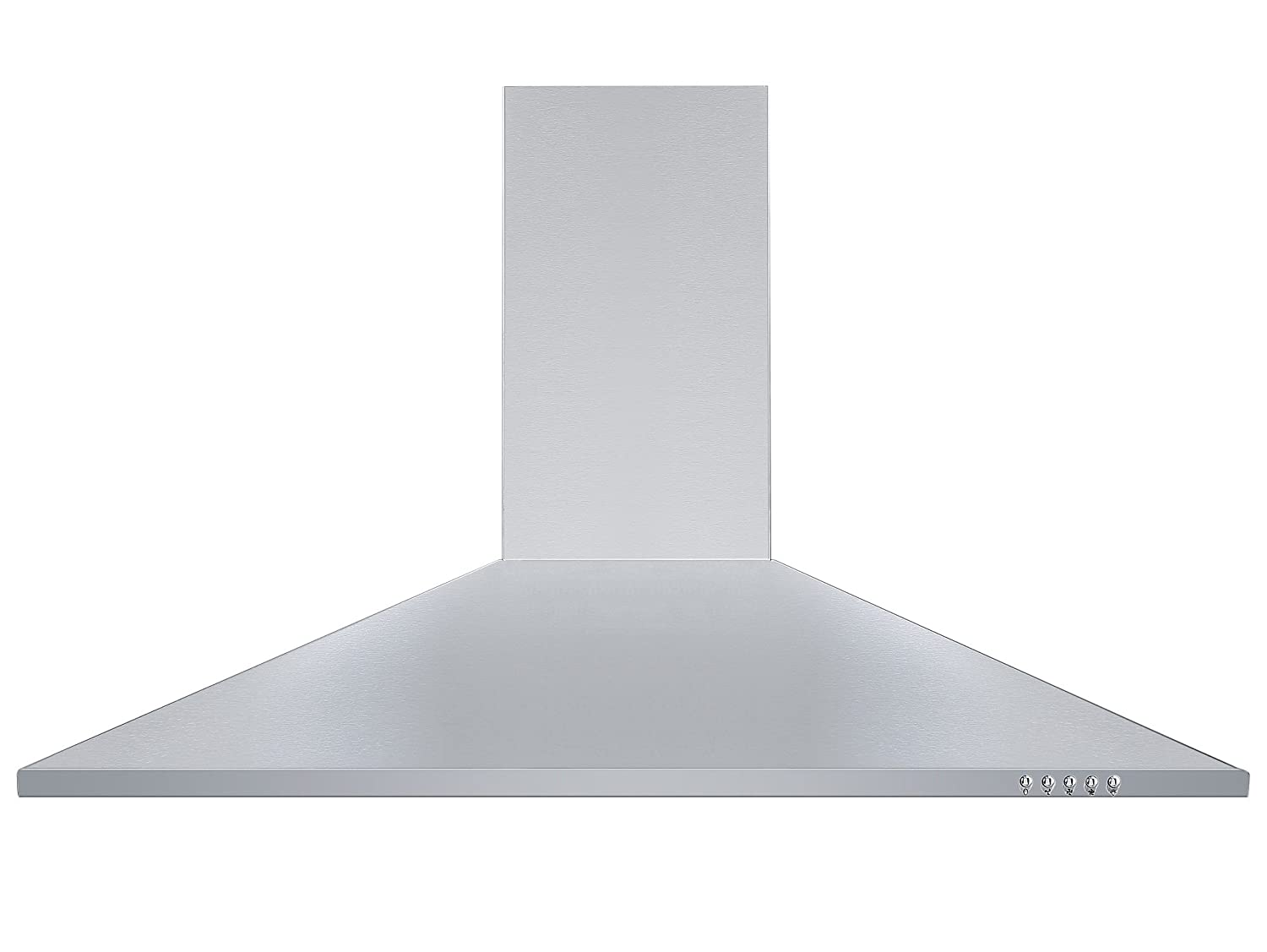 Cookology Unbranded CH900SS Chimney Cooker Hood | 90cm Wall Mounted Kitchen Extractor Fan in Stainless Steel [Energy Class C]