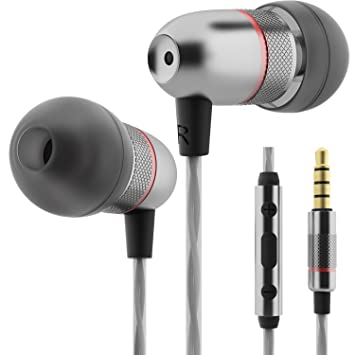 163f1e4cb95 Betron ELR50 Earphones Headphones, Balanced Bass Driven Sound, Noise  Isolating, Stereo for iPhone