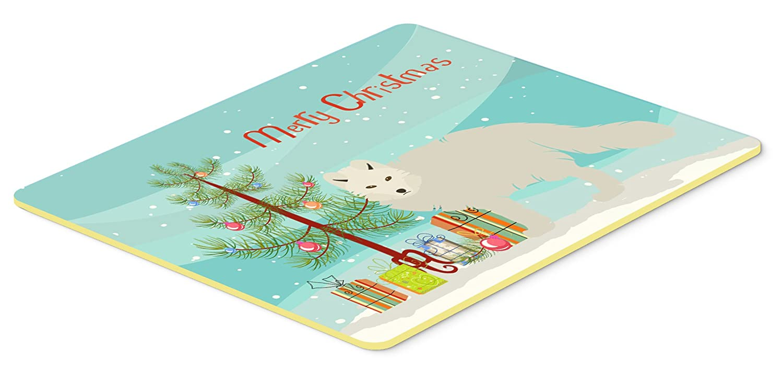 Carolines Treasures BB9244JCMT White Arctic Fox Christmas Kitchen Mat 24 x 36 Multicolor