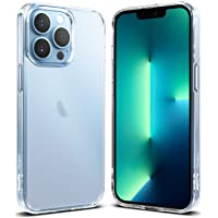 Ringke Fusion Kompatybilny z Etui iPhone 13 Pro, Anty Odcisk Palca Odporna na Wstrząsy Osłona Zderzaka - Matte Clear
