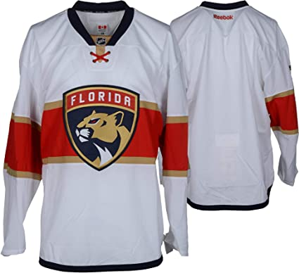 Florida Panthers Team-Issued Blank White Jersey - Size 58 - Fanatics ... a446a1a011f