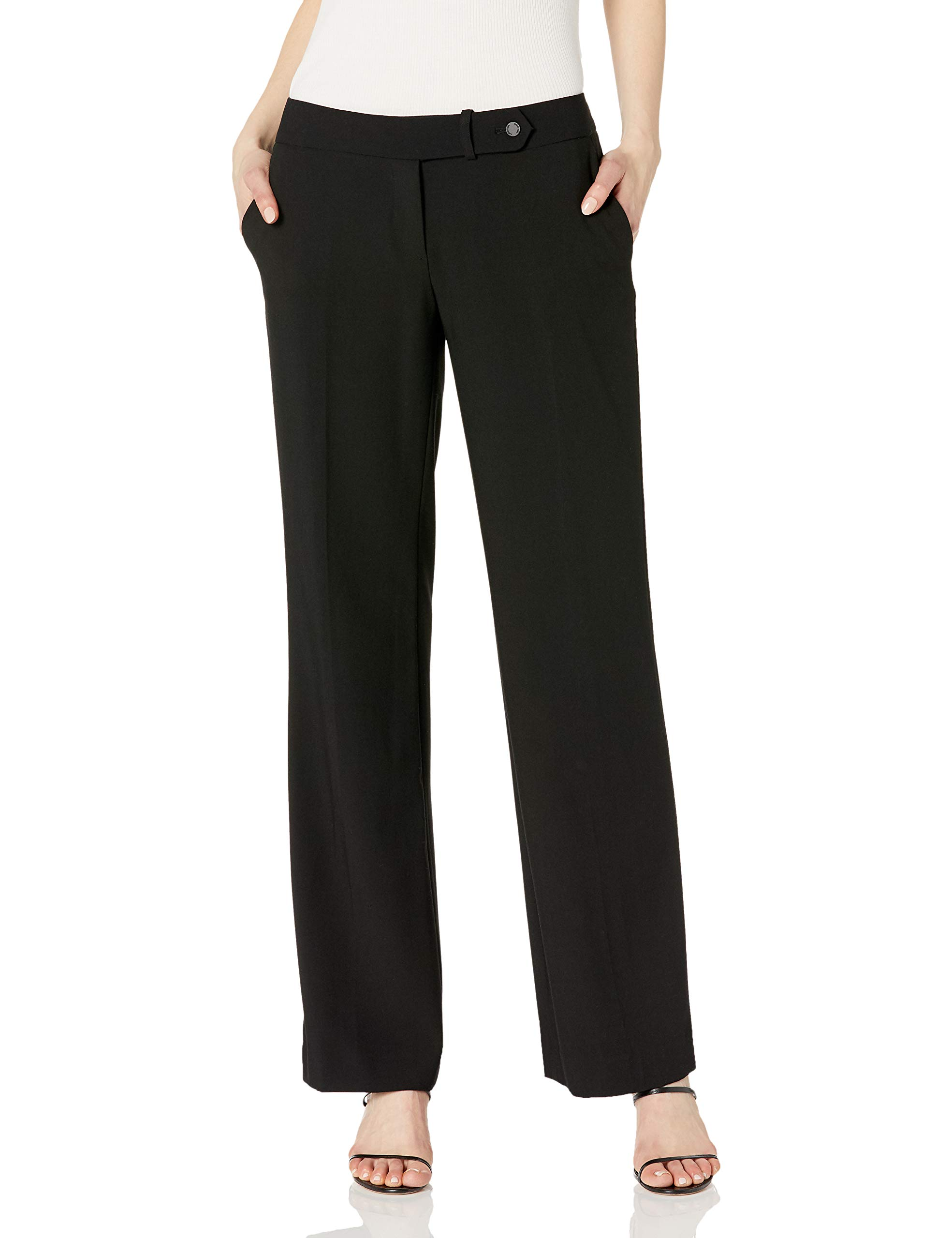 Women's Classic Fit Straight Leg Suit Pant
