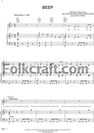 The Pussycat Dolls – Beep – Partituras: Amazon.es ...