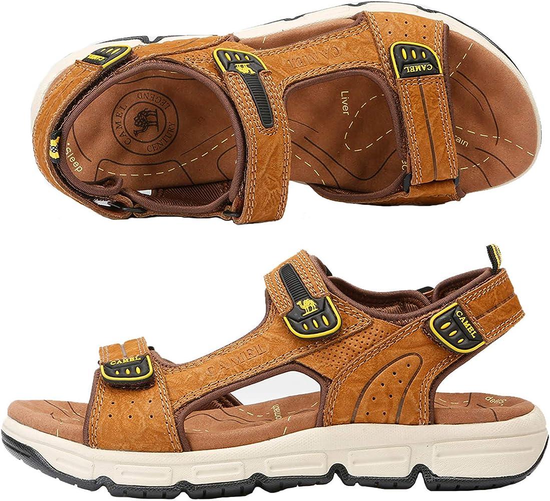 CAMEL CROWN Lightweight Leather Sandals