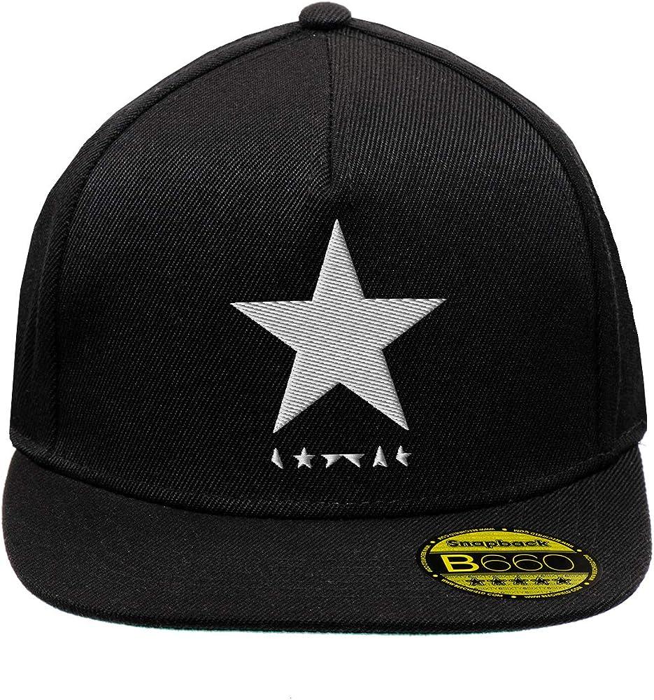 Black Star David Bowie White Negro Original Gorra Snapback Unisex ...