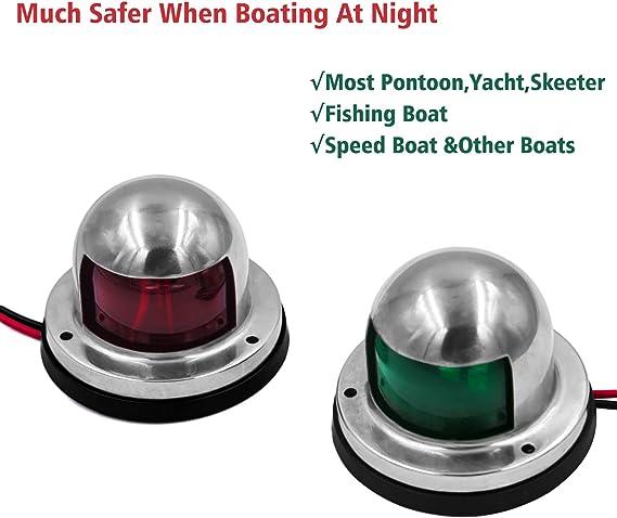 Navigation Light Clear BOW Boat Yacht Sailing Marine Osculati 11.410.13
