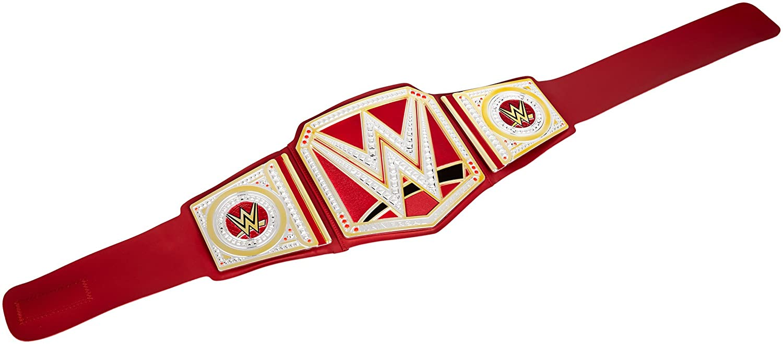 WWE - Cinturón Championship Raw - FLB10 - Oro: Amazon.es: Juguetes y juegos