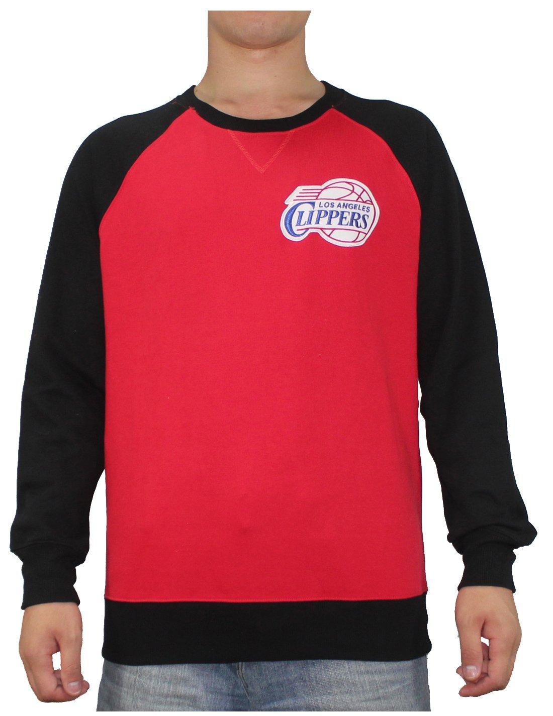 NBA Mens LOS ANGELES CLIPPERS: Athletic Pullover Sweatshirt M Multicolor