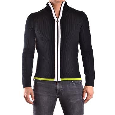 EA7 - Emporio Armani - Gilet zippé en laine noir homme 6XPEZ2  Amazon.fr   Vêtements et accessoires 5be695cf514