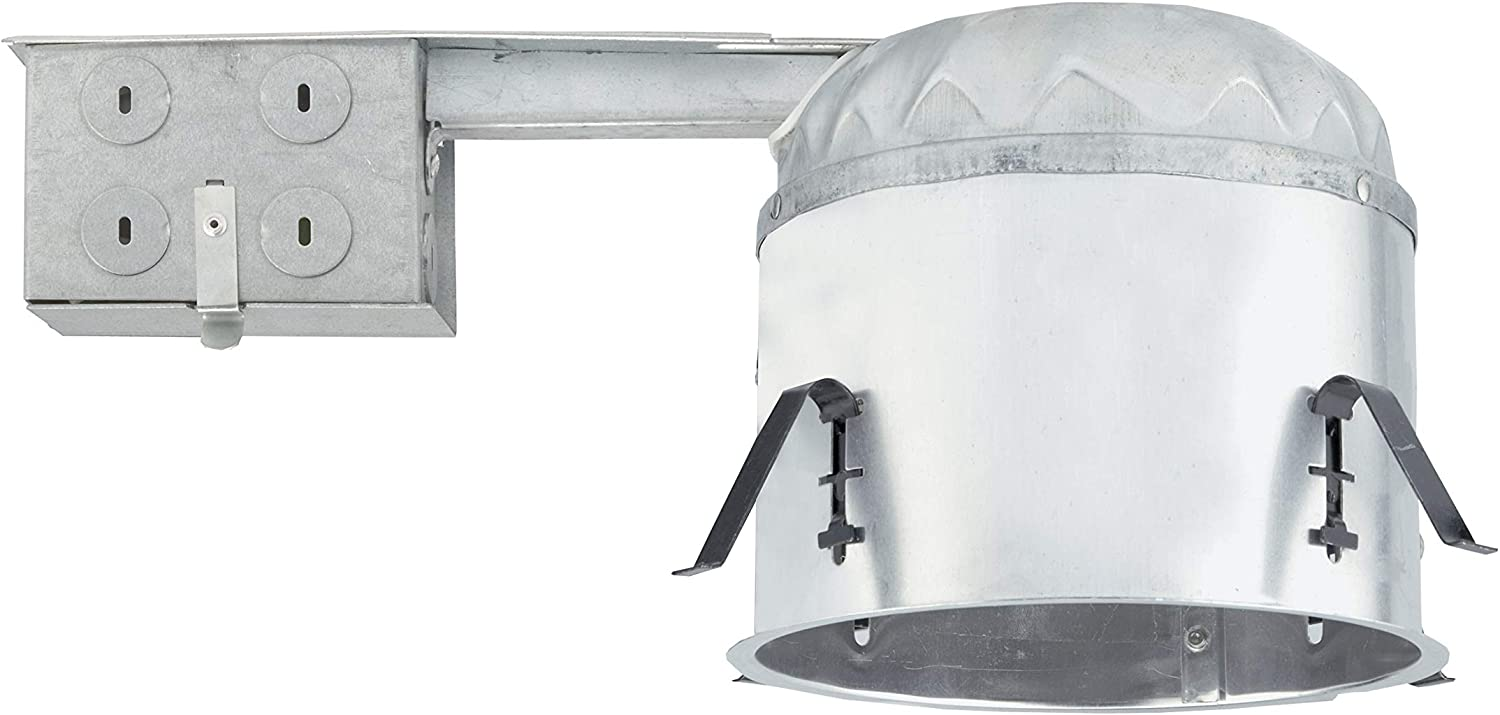 Nicor Lighting 6 Inch Shallow Housing For Remodel Applications 17004r Recessed Light Fixture Housings Amazon Com