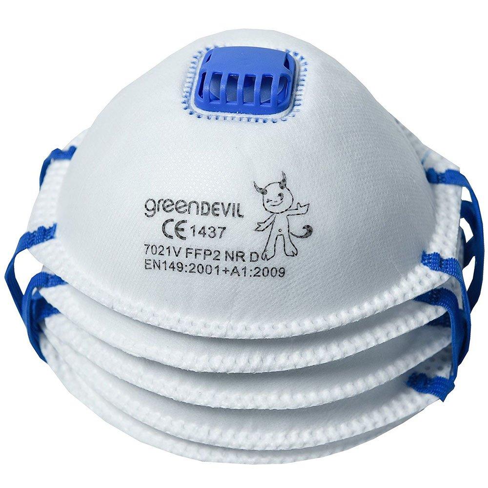Connex Feinstaubmaske FFP2 mit Ventil, 5 Stü ck, COXT939124 Conmetall