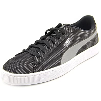 4c36edfb4d6 Puma Mens Basket Mesh Shoes