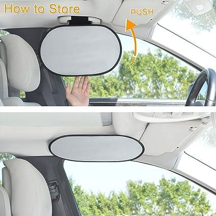 Wanpool Auto Innenraum Haltegriff Sonnenblende Sonnenschutz Für Den Fahrer Auto