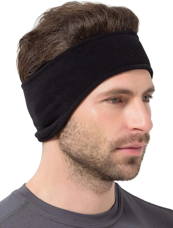 Warm Fleece Headband Ear Warmer Muffs Cover Headwear for Running Walking