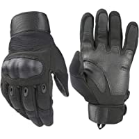Avril Tian guanti tattici, esercito militare nocche in gomma dura Outdoor FULL finger guanti touch screen per uomo ciclismo moto escursionismo campeggio caccia Airsoft Paintball