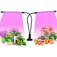 Plant Grow Light with Auto Turn On/Off Function, CANAGROW 27W 54 LED Plant Grow Lamps for Indoor Plants, 3 Head Timing…