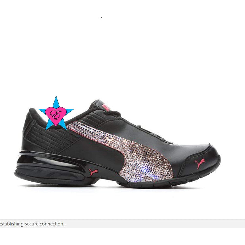 info pour 1eabd 57a69 Amazon.com: Custom Rhinestone Shoes for Women | Puma Super ...