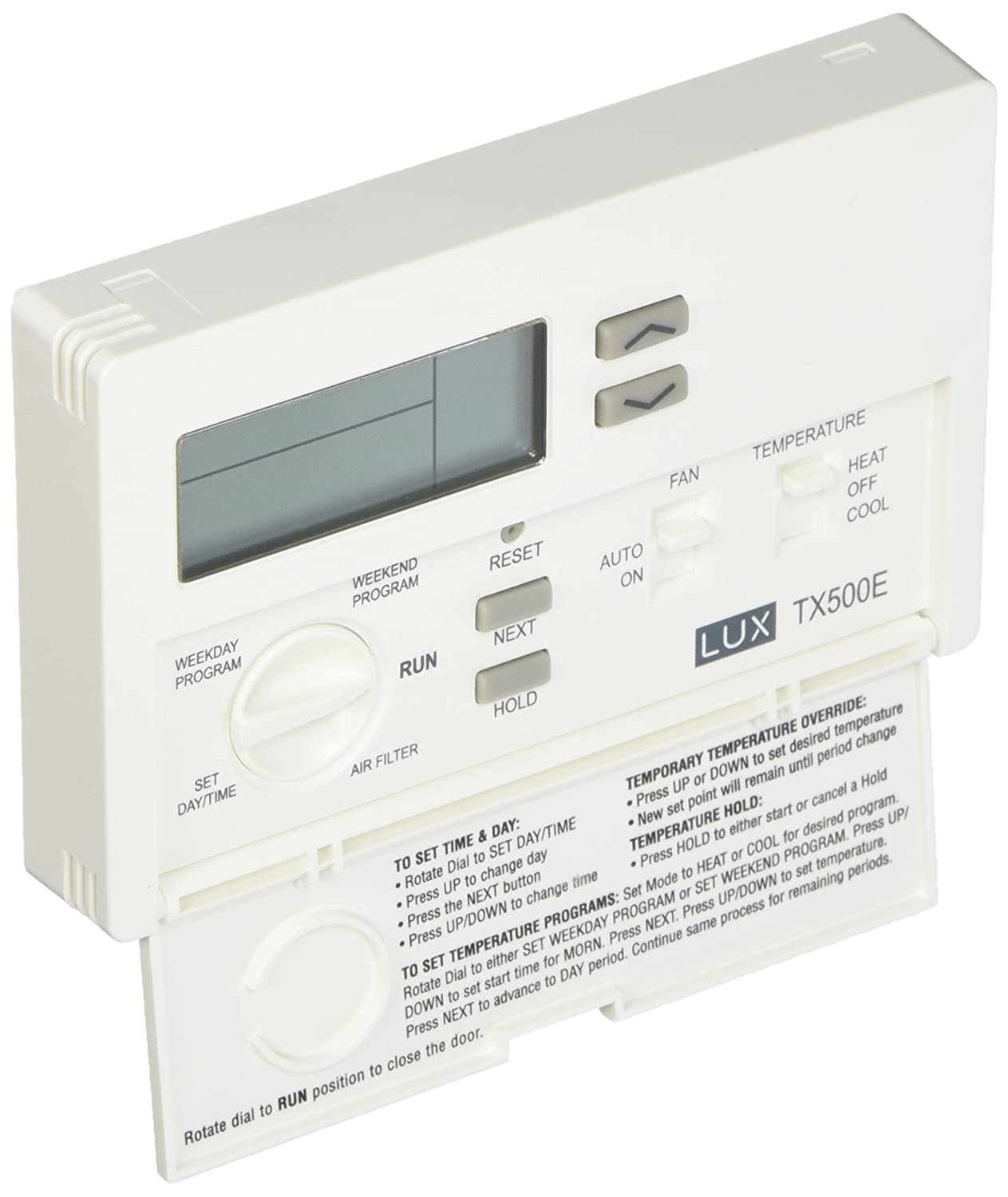 71fqJZ2SSnL._SL1500_ lux products tx500e smart temp programmable thermostat lux tx500e wiring diagram at gsmx.co