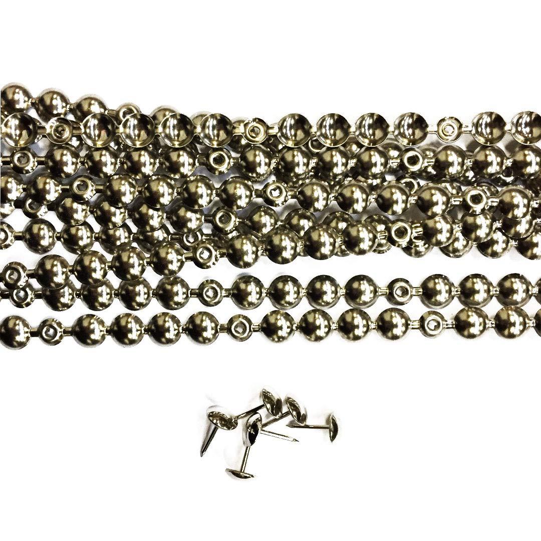 10 Tiras de Clavos 9,5mm color Niquel con 20 Clavos ...