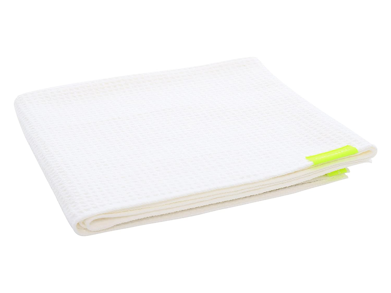 Aquis - Original Hair Towel (Waffle), Ultra Absorbent & Fast Drying Microfiber Towel For Thicker Hair, Dark Grey (19 x 39 Inches) B073C3VK99