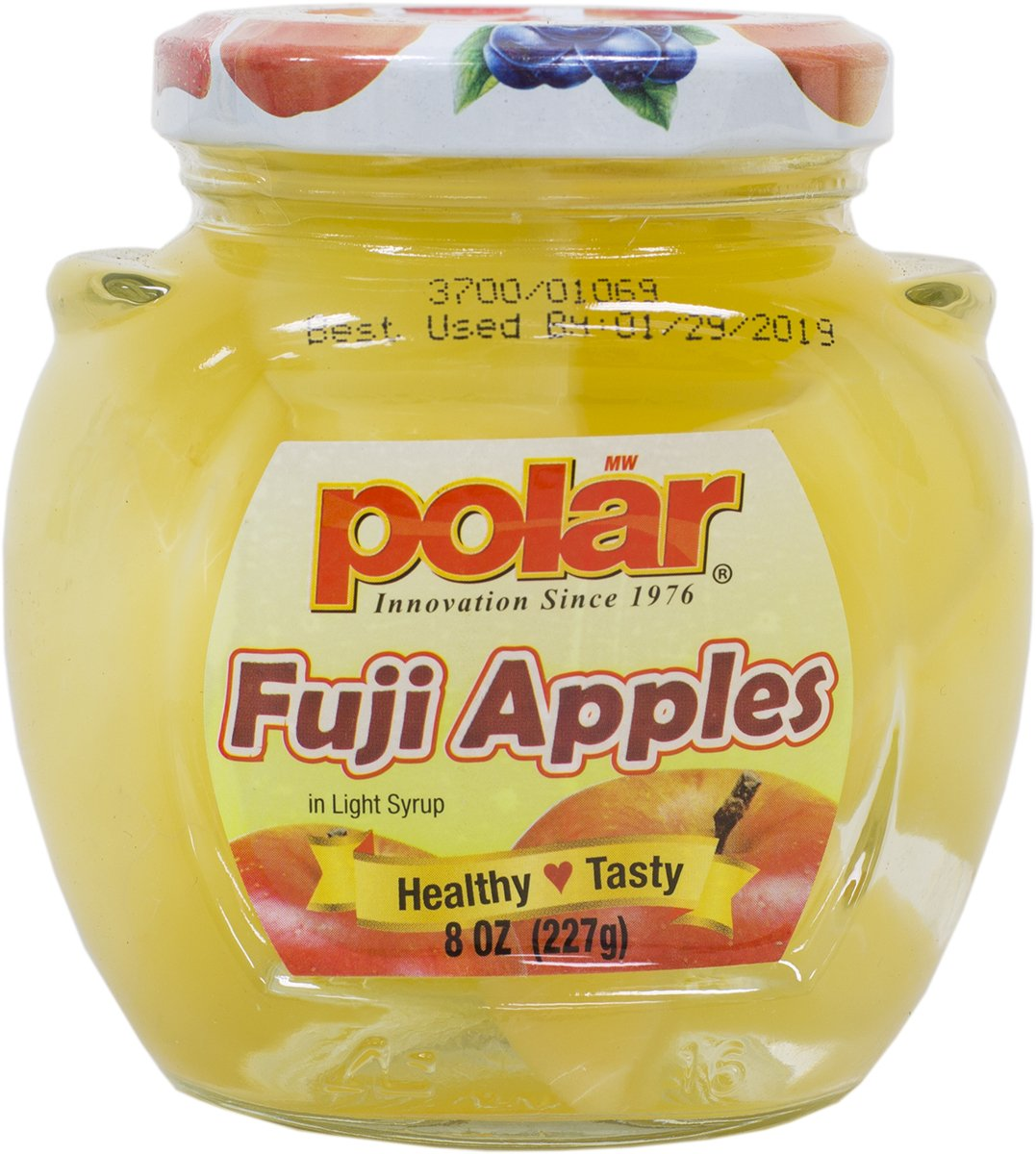 MW Polar Fruits in jar 8 oz. (Pack of 12) (Fuji Apple)