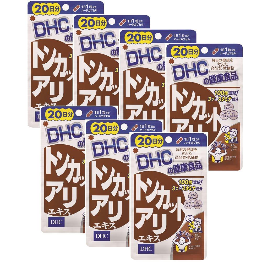 【セット品】DHC トンカットアリエキス (20日分) 20粒 7個セット B01LCMUSJC