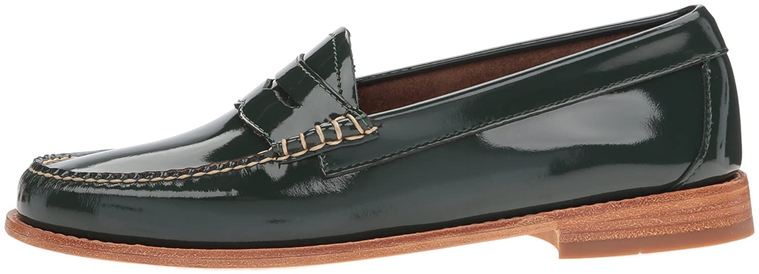 G.H. Bass & Co. Women's Whitney Penny Loafer, Spruce, 7 M US