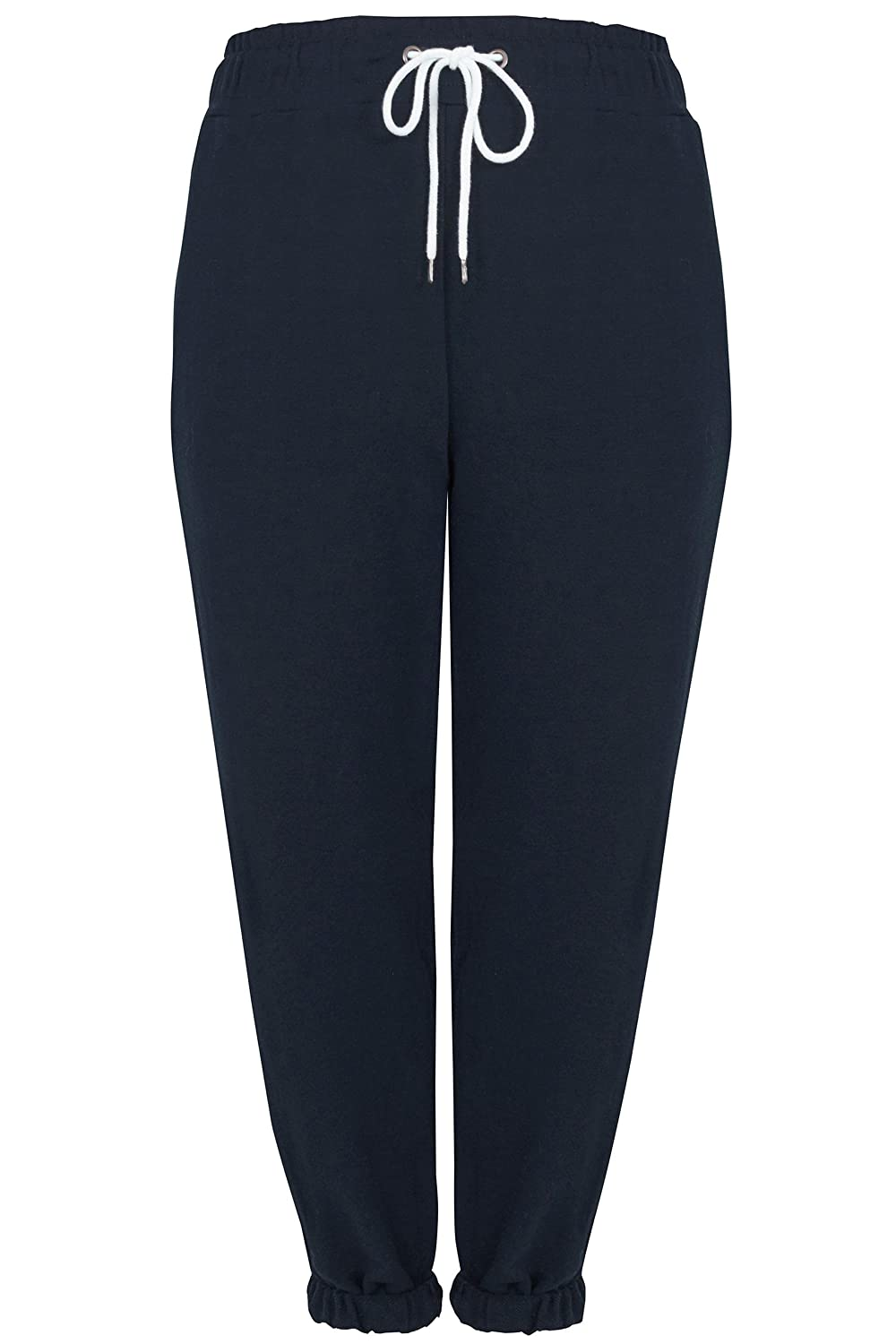 Yours Clothing Women's Plus Size Joggers Elasticated Cuffs