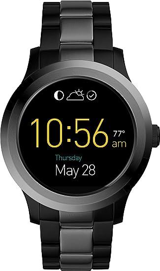 Fossil Smartwatch Analogico para Unisex de Procesador con Correa en Acero Inoxidable FTW2117: Amazon.es: Relojes