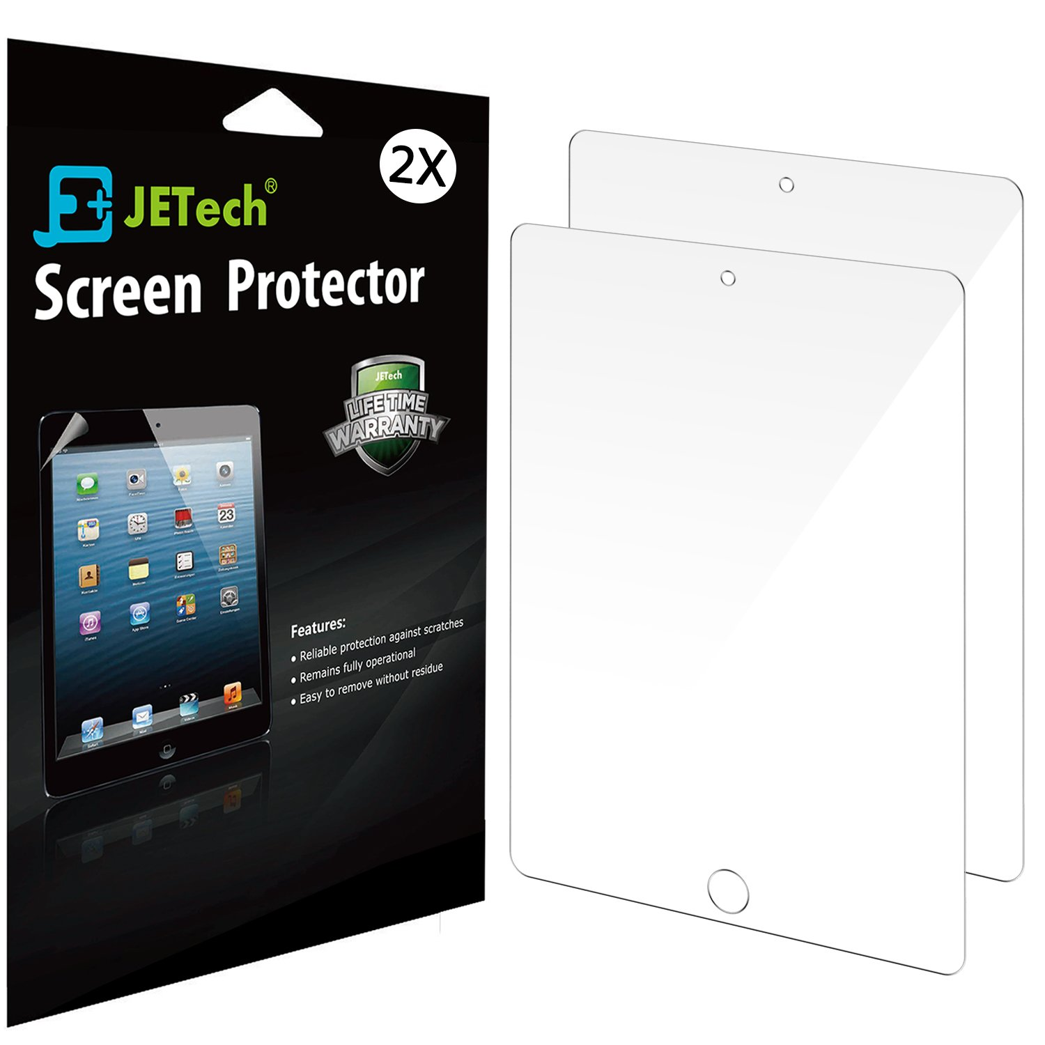 Ipad Screen Protector Jetech 2-Pack Screen Protector Film For Apple Ipad 2/3/.. 8