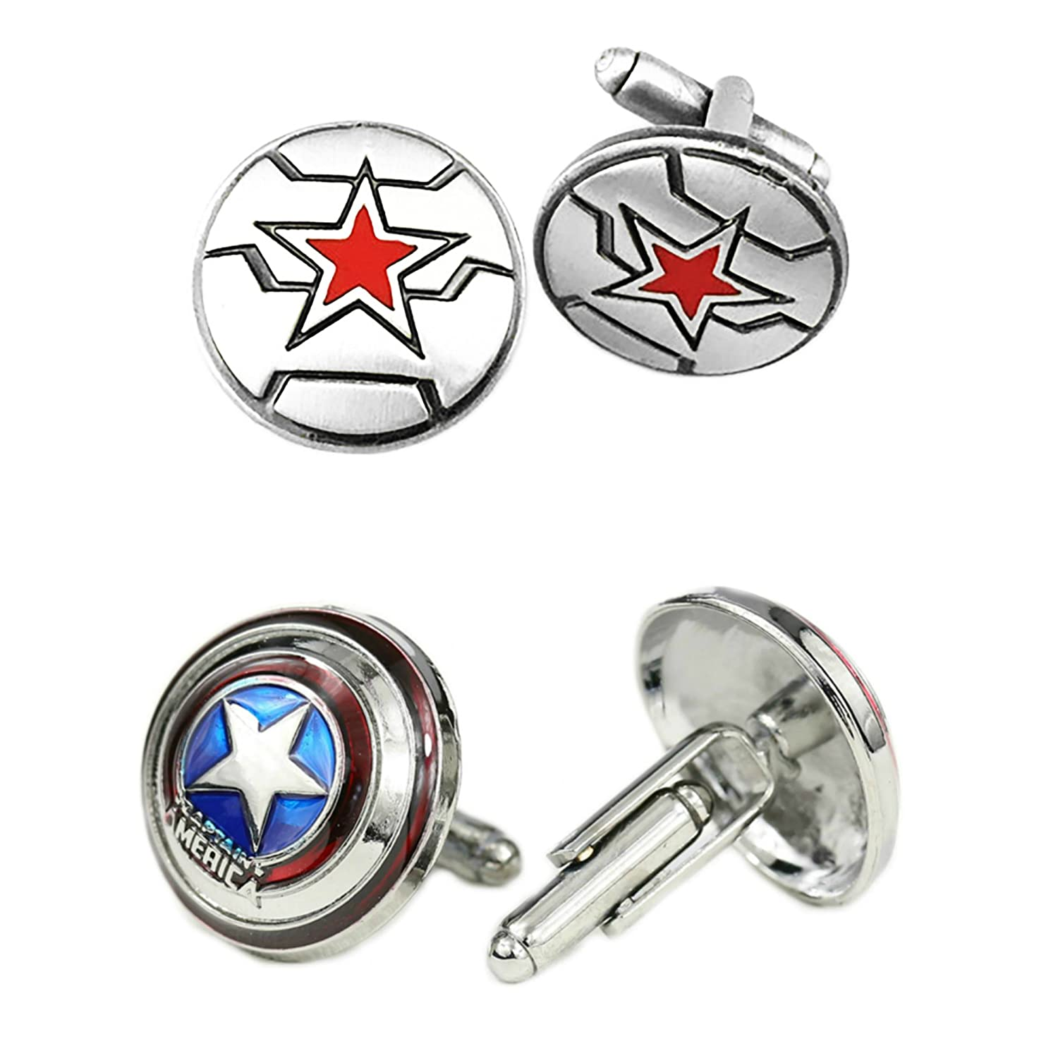 Marvel Comics 2 Pairs The Winter Soldier Captain Americas Shield