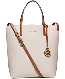 159b060985d3 MICHAEL Michael Kors Womens Hayley Large Convertible Tote Vanilla luggage