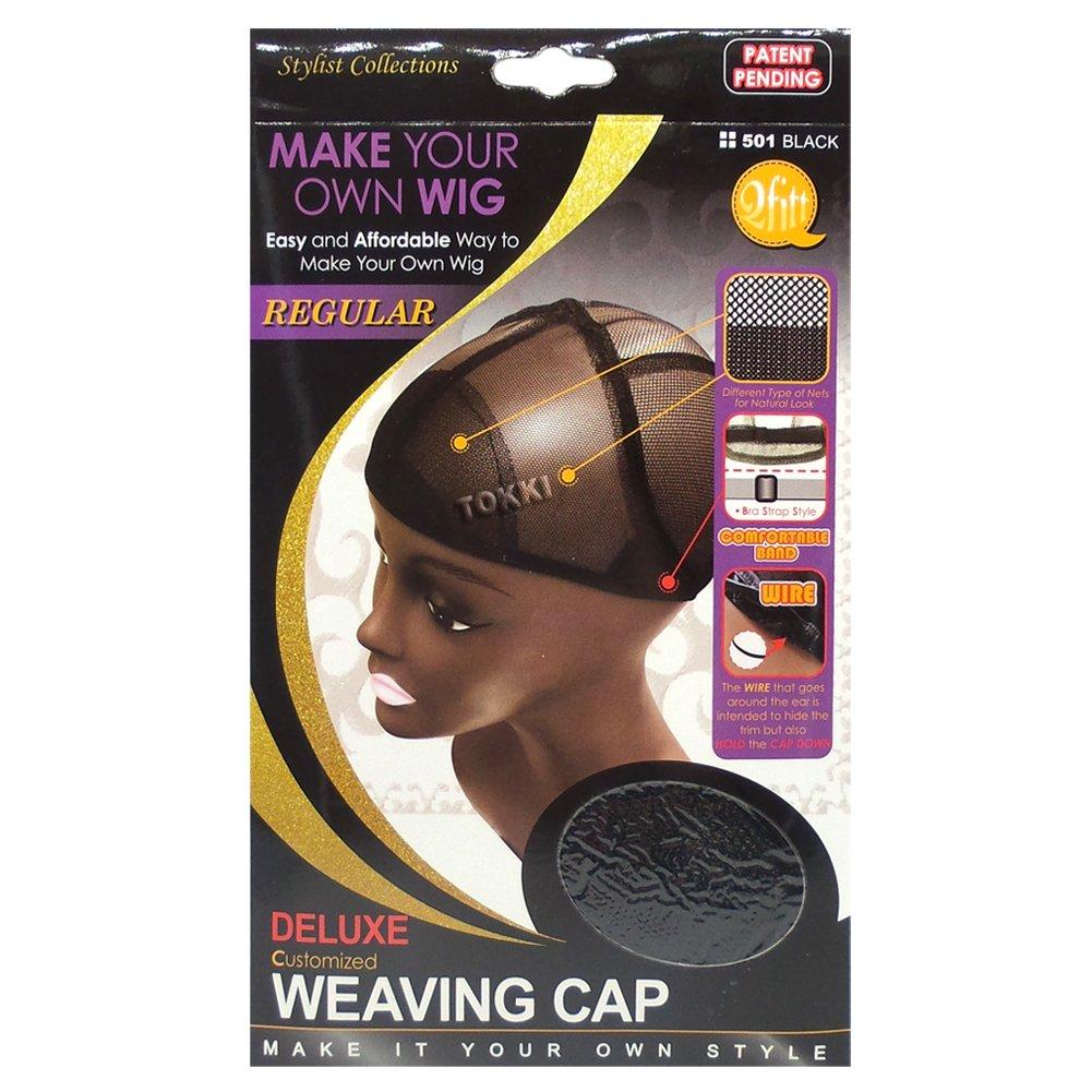 Amazon Qfitt Make Your Own Wig Deluxe Weaving Cap 501 Black