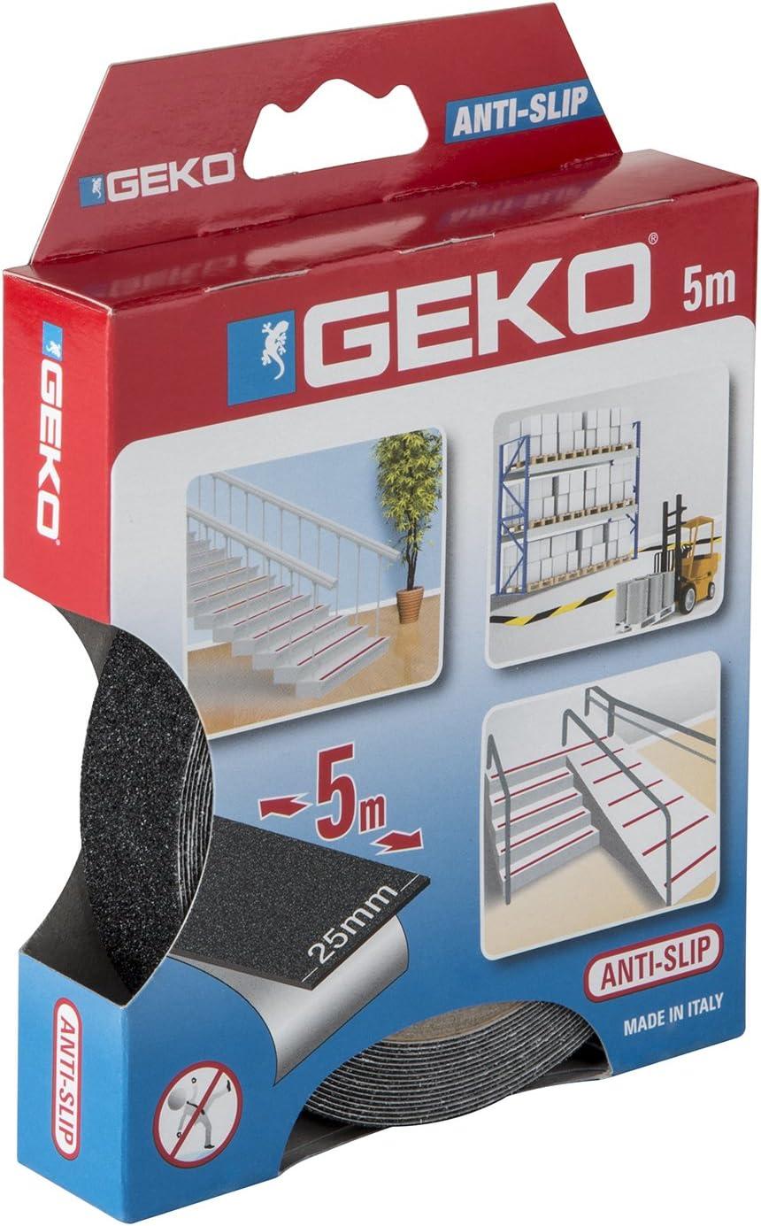 Geko 220//56 Cinta adhesiva 25 mm x 5 m