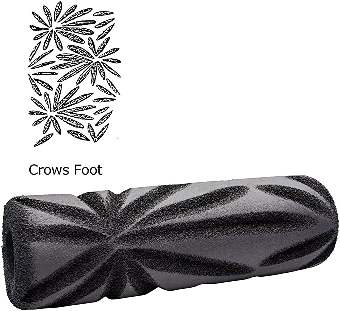 Crows Foot New ToolPro Decorative Texture Roller Cover Ceiling Walls Pattern