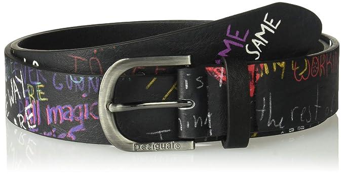 Desigual CINT Graffiti Wall, Ceinture Femme  Amazon.fr  Vêtements et  accessoires bfbcf55091b