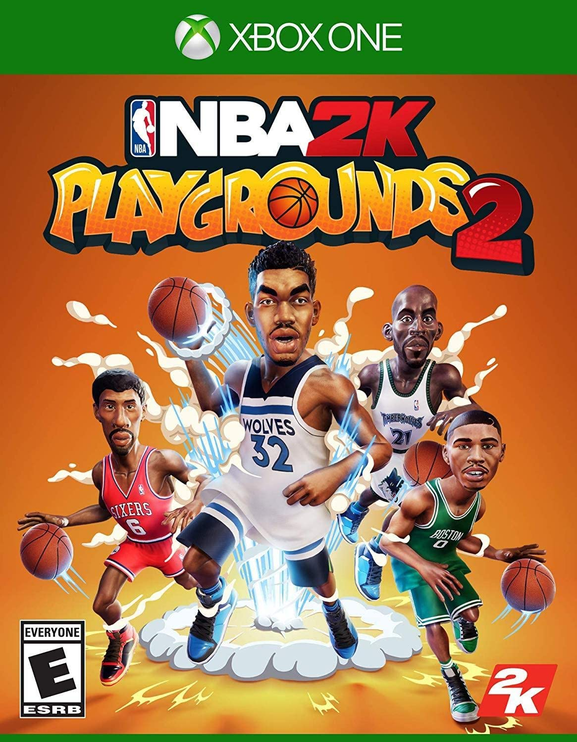 Amazon com: NBA 2K Playgrounds 2 - Xbox One: Take 2