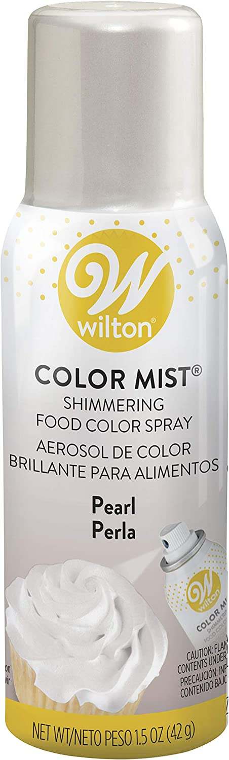 Wilton Pearl Edible Food Color Spray, 1.5 ounce