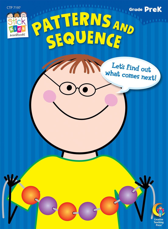 Workbooks prek workbooks : Patterns and Sequence Stick Kids Workbook, Grade PreK (Stick Kids ...