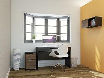 timeless design 22694 ee5d2 Nexera 400481 Next Home Office Kit includes Desk, Wall Unit ...
