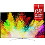LG 65-inch Super UHD 4K HDR Smart LED TV 2017 Model (65SJ8500) with Additional 1 Year Extended Warranty