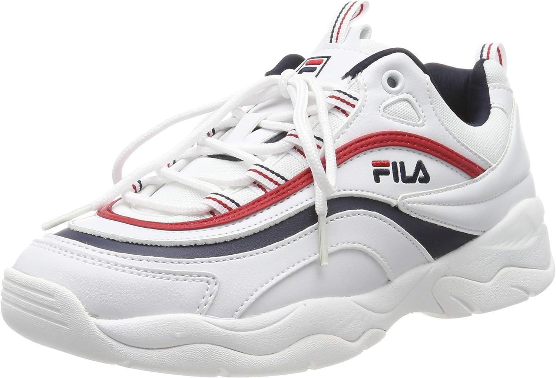 Fila Strada Low WMN, Baskets Hautes Femme, Blanc (White 1fg), 36 EU