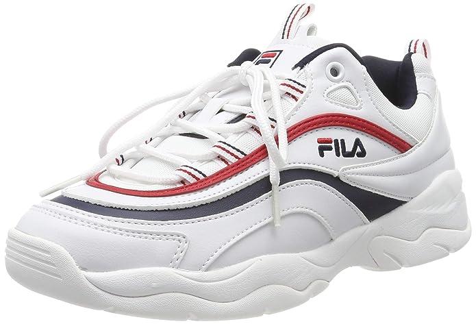 Fila Ray Low Sneakers Damen Weiß
