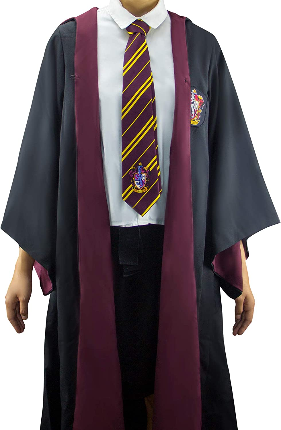 Harry Potter The adult size Robe Cloak giving knit wrap and tie