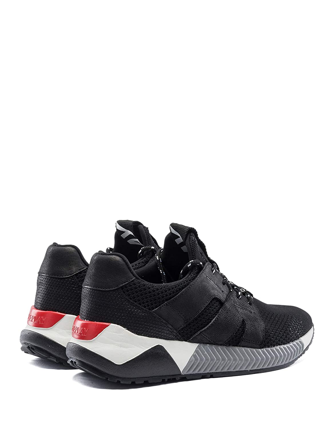 Replay Men's Elwood Lace Up Sneakers: : Schuhe