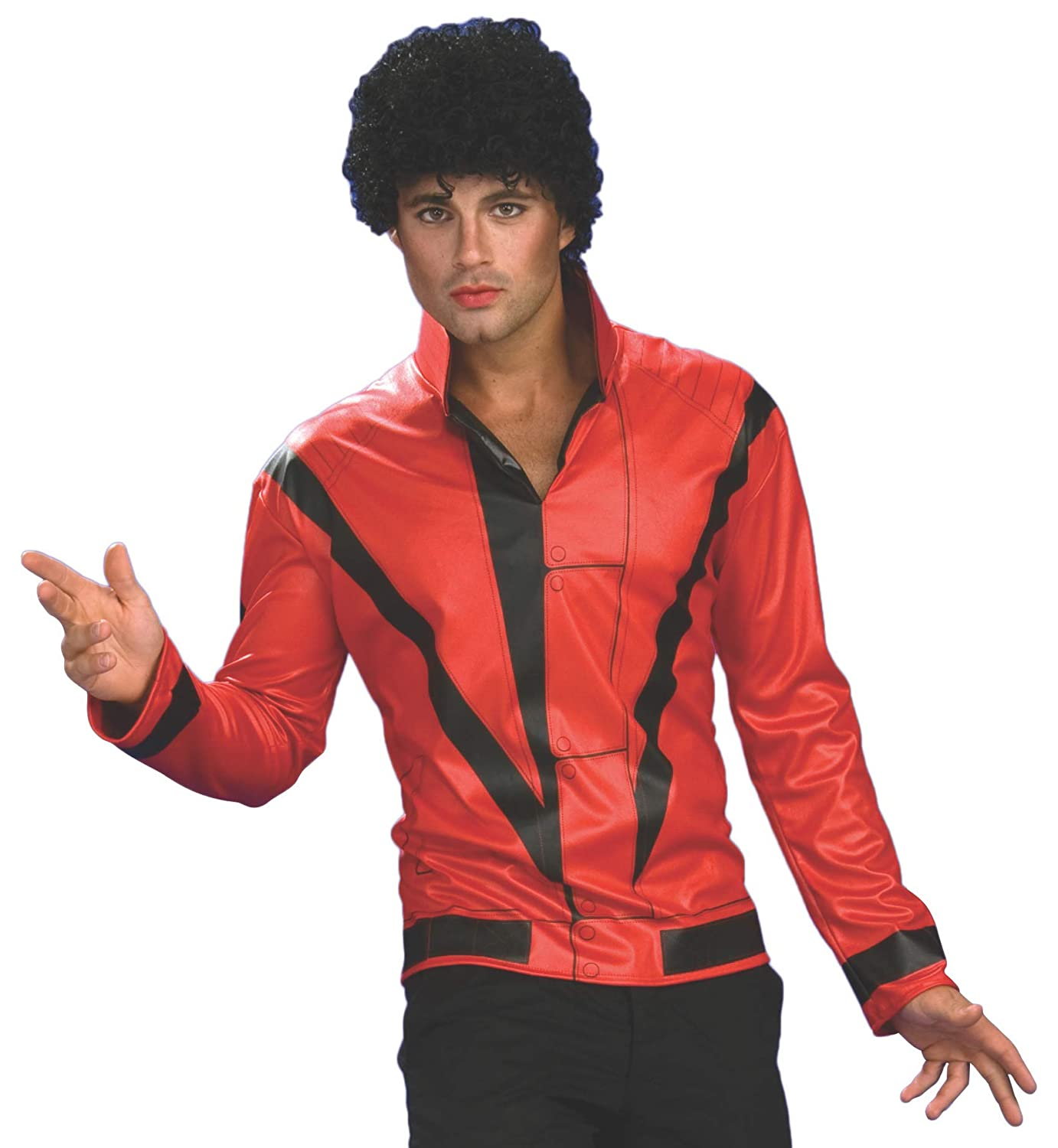 Rubie's Michael Jackson Adult Costume Top, Small Rubies 889348S
