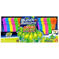 Have A Blast With No Fuss Self-Sealing and Easy Tie Feature Fill 100 Water Balloons In 60 Seconds Zuru Bunch O Balloons 12-pack Total Of 420 Fun Colored Water Balloons - Le The Games Begin!