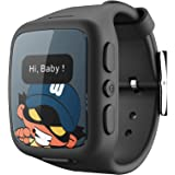 Safety Smart GPS watch for kids Mobile Phone monitored through Smart mobile app