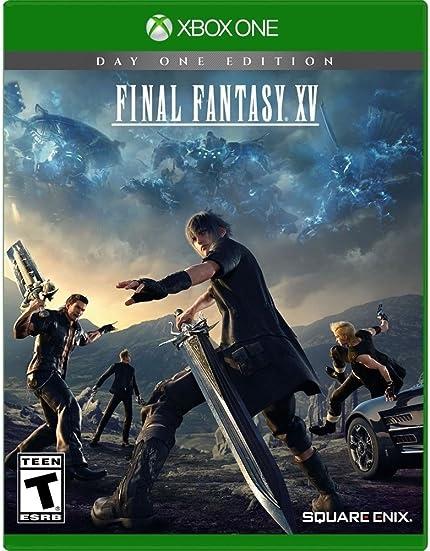 Xbox One Final Fantasy XV Day One Edition     - Amazon com